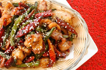 Spicy Szechwan chicken $24.5