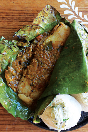 Banana leaf fish fry