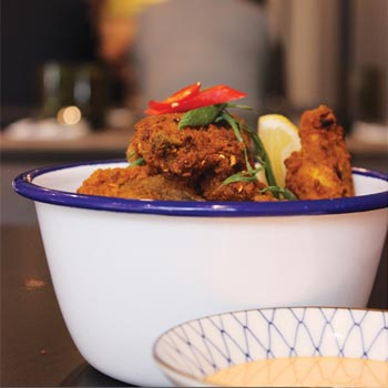 Kuviang fried chicken $13